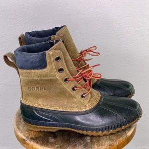 Sorel waterproof lace duck boot